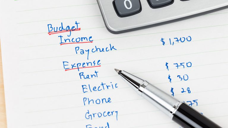 set and keep a budget