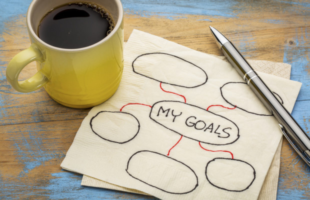 stick to goals and plans